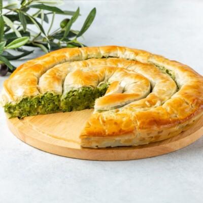 Хортопита | Пирог с зеленью