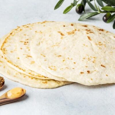 Лепешка пита | Традиционная греческая пита