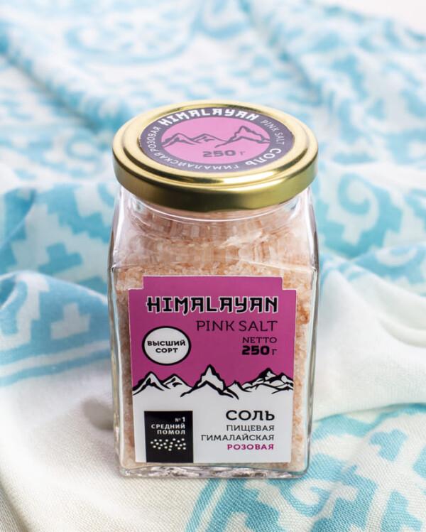 Соль Гималайская розовая |